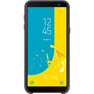 Samsung Dual Layer Cover, Galaxy J6 (2018), Schwarz