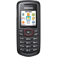 Samsung E1081, schwarz