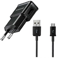 Samsung ETA0U80E /  ETA0U81E - Netzteil/ Ladekabel/ Ladegerät - Micro USB - Schwarz - 1.000mAh