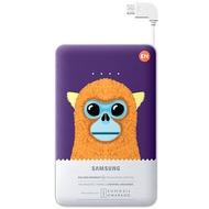 Samsung externer Akkupack 11.300 mAh 2A Micro-USB-Kabel/ USB-Port, violet, Monkey