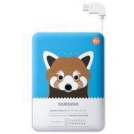 Samsung externer Akkupack 8.400mAh 2A Micro-USB-Kabel/ USB-Port, blue, Panda