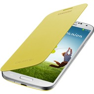 Samsung Flip Cover EF-FI950B für Galaxy S4, Yellow
