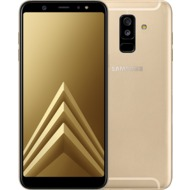 Samsung Galaxy A6 Plus (2018), Gold mit Telekom MagentaMobil S Vertrag