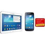 Samsung Galaxy S4 mini, schwarz + Galaxy Tab3 10.1 16GB (UMTS), weiß (Vodafone)