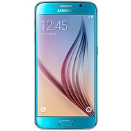 Samsung Galaxy S6 64 GB, blue topaz