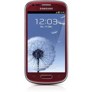 Samsung i8190 Galaxy S3 mini 8GB, garnet-red