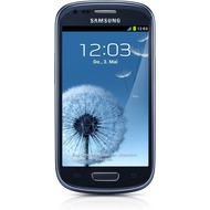 Samsung i8190 Galaxy S3 mini 8GB, pebble blue mit Telekom Special Complete Mobil XL Vertrag