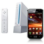 Samsung Galaxy S Plus, metallic black + Nintendo Wii Sports Pak
