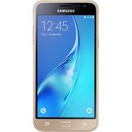 Samsung J320 Galaxy J3 DUOS (2016), 12,63 cm (5 Zoll), gold mit Vodafone Red S +5 Vertrag