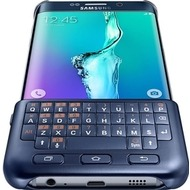 Samsung Keyboard Case mit Tastatur für Galaxy S6 Edge+, Schwarz