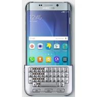 Samsung Keyboard Case mit Tastatur für Galaxy S6 Edge+, Silber