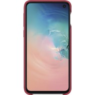 Samsung Leather Cover Galaxy S10e, red