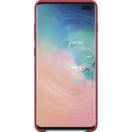 Samsung Leather Cover Galaxy S10+, red