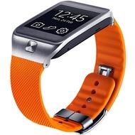 Samsung Leder Armband für Galaxy Gear 2/ 2 Neo, Orange