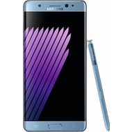 Samsung Galaxy Note 7, blue-coral