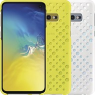 Samsung Pattern Cover Galaxy S10e, white/ yellow
