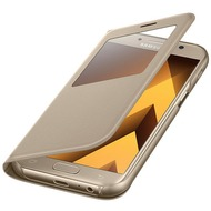 Samsung S View Standing Cover A520F Galaxy A5 (2017) - gold