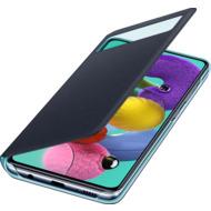 Samsung S View Wallet Cover EF-EA515 für Galaxy A51, Black