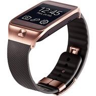 Samsung Standard Armband für Galaxy Gear 2/ 2 Neo, Braun+ Gold