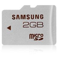 Samsung Standard microSD Card 2GB Class 4