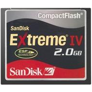 Sandisk Extreme IV CompactFlash Card, 2GB