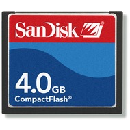 Sandisk CompactFlash Card, 4 GB