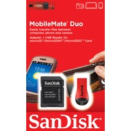 Sandisk USB 2.0 SDHC/ microSDHC Card Reader MobileMate Duo, Retail-Blister