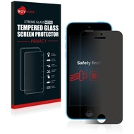 Savvies HD33 Privacy Glas-Displayschutz für Apple iPhone 5C