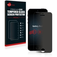 Savvies HD33 Privacy Glas-Displayschutz für Apple iPhone 5S