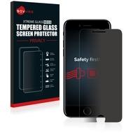 Savvies HD33 Privacy Glas-Displayschutz für Apple iPhone 7