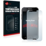 Savvies Xtreme Glass HD33 Clear Panzerglasfolie für Samsung Galaxy J1 (2015)