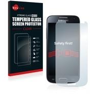 Savvies Xtreme Glass HD33 Clear Panzerglasfolie für Samsung Galaxy S4 Mini LTE (4G) I9195