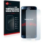 Savvies Xtreme Glass HD33 Clear Panzerglasfolie für Samsung Galaxy S6