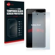 Savvies Xtreme Glass HD33 Clear Panzerglasfolie für Sony Xperia E3 Dual D2212