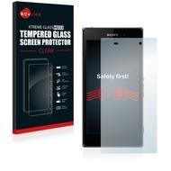 Savvies Xtreme Glass HD33 Clear Panzerglasfolie für Sony Xperia Z1 C6906