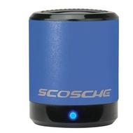 Scosche Portabler Lautsprecher boomCAN, blau