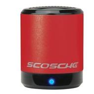 Scosche Portabler Lautsprecher boomCAN, rot