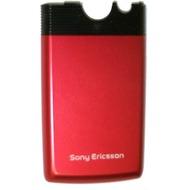 Sony Ericsson Akkufachdeckel volcanic red (rot)