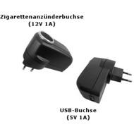 Seecode Spannungswandler (230 Volt auf 12 Volt + USB-Port)