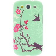 signature Back Case - Core Range - Samsung Galaxy S3 -Cherry Blossom