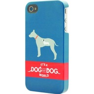 signature Back Case - Retro Range - Apple iPhone 4/ 4S -Dog