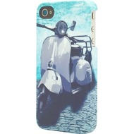 signature Back Case - Retro Range - Apple iPhone 4/ 4S -Vespa