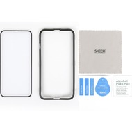 Skech Frontier Full-Fit 2,5D Tempered Glass Displayschutz, Apple iPhone XS/ X