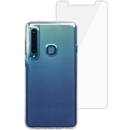Skech Matrix SE Case + Glas Displayschutz, Samsung Galaxy A9 (2018), transparent, SK33-BD-MTX