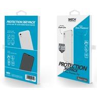 Skech Ultimate 360 Pack Crystal + 2x Glas Displayschutz, Apple iPhone XR