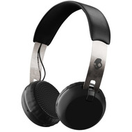 Skullcandy Headset Skullcandy GRIND ON-EAR Wireless W/ TAP TECH BLACK/ CHROME/ BLACK