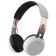 Skullcandy Headset Skullcandy GRIND ON-EAR Wireless W/ TAP TECH WHITE/ BLACK/ RED