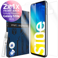 smart engineered 3D Schutzfolien für Samsung Galaxy S10e, 2x Premium HD Displayschutzfolien, 1x Folie Rückseite [FULLBODY SET]