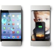 smart:)things sDock mini, silber - Wandhalterung/ Ladestation mit Lightning-Dock - für iPad Mini 1, 2, 3