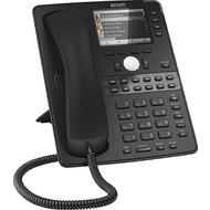 snom D765 VoIP Telefon (SIP), Gigabit, (ohne Netzteil), schwarz